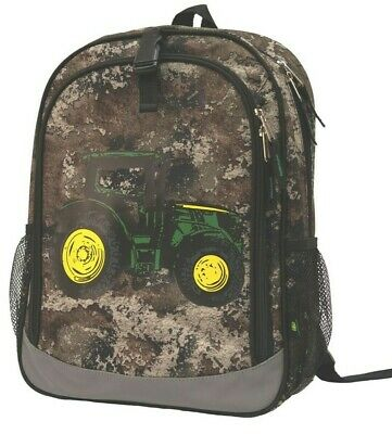 AU54.75 • Buy NEW John Deere Truetimber STRATA Camo Tractor Book Bag Backpack LP70697