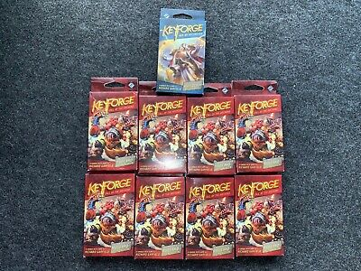 $ CDN53.39 • Buy KeyForge: Call Of The Archons / Age Of Ascension 9 Deck Boxes NEW SEALED