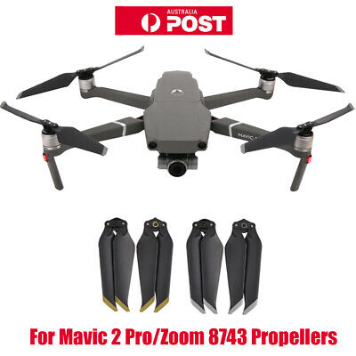 AU19.99 • Buy For DJI Mavic 2 Pro/Zoom 8743 Propellers Low Noise Blades Foldable Quiet Props