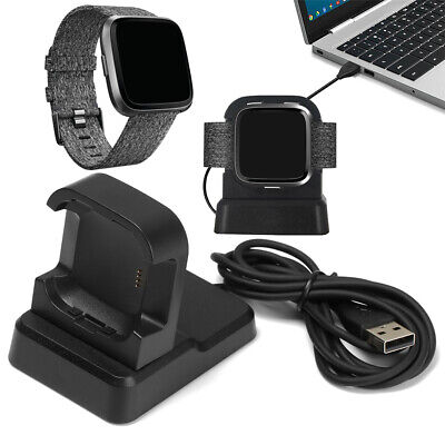 $ CDN10.95 • Buy Cradle Charger Holder Fast Charging Cord Station For Fitbit Versa&Versa 2 Lite