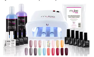 £14 • Buy Mylee Gel Nails Essentials Kit With 36W UV Lamp/ Collections & Bundles-Free Post