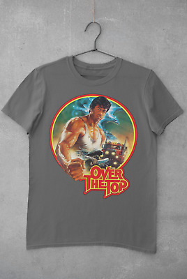 £7.99 • Buy Over The Top T-Shirt Sly Stallone Movie Film Gift 80s 90s Retro Tee