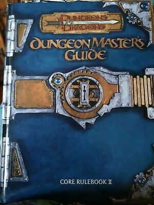 AU45.15 • Buy Dungeons & Dragons Dungeon Master's Guide Core Rulebook 3.5 D&D