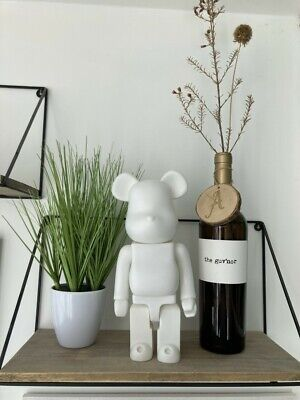 $23.20 • Buy 400% Bearbrick Action Figure Ornament Toy Collection 28CM (White) UK SELLER NEW