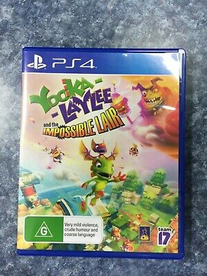 AU30 • Buy Ps4 Yooka Laylee And The Impossible Lair