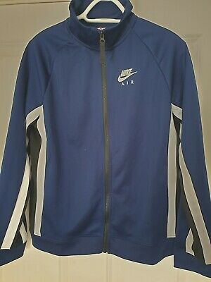 Nike Air Boys Track Top Full Zip Blue Size XL BNWT • 20£