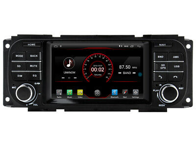 $360 • Buy Navi Car GPS Radio Player For Jeep Chrysler Dodge 1997-2010 5  Android 10 DSP