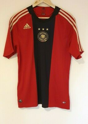 GERMANY Football Shirt Adidas 2008 2009 Soccer Jersey Away Top Men's Size Medium • 19.50£