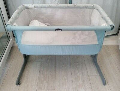 Next2me Crib Chicco Baby Co Sleeping Cot Bedside Next To Me • 59.99£