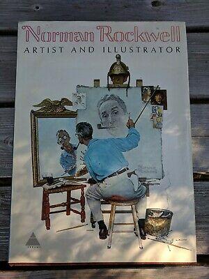$ CDN17.40 • Buy Norman Rockwell Book Artist And Illustrator 1970 Coffee Table Book Dust Jacket