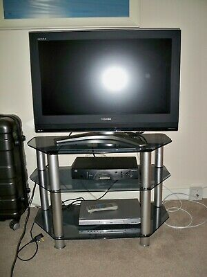 Toshiba Regza TV 32C 3035D Excellent Condition With Stand And DVD Player • 100£