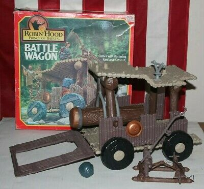 $ CDN43.97 • Buy Robin Hood Prince Of Thieves Movie Battle Wagon With Box Kenner Toys Ewoks