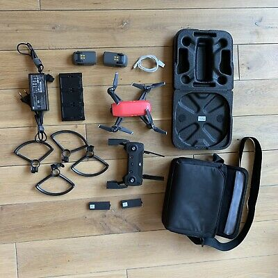 AU587.99 • Buy DJI Spark FLY MORE Combo - Lava Red - Good Condition