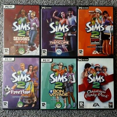 The Sims 2 - Seasons - Nightlife - Open For Business - Freetime - Bon Vogage • 16£