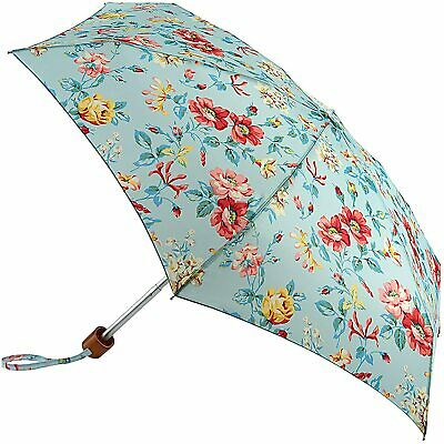 Cath Kidston Pembroke Rose Floral Compact Ladies Umbrella Brolly - Brand New • 24.95£