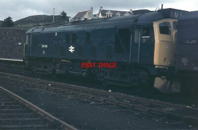 Photo  Class 24 24124 At Kyle Of Lochalsh In July 1975 • 2.75£