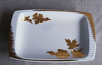 $ CDN9.99 • Buy Royal Winton Grimwades Gold  Leaf Trinket Dish