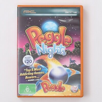 AU19.95 • Buy Peggle Nights With Peggle Original (PC Game) With Case