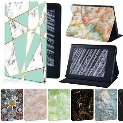 Marble Leather Stand Tablet Cover Case For Amazon Kindle 8/10 Paperwhite 1 2 3 4 • 7.99£