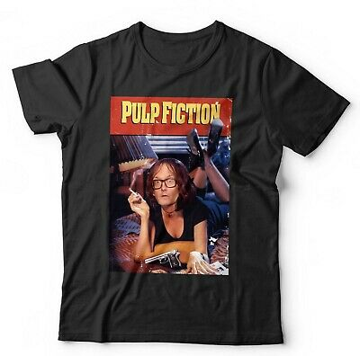 Pulp Fiction Jarvis Cocker Tshirt Unisex & Kids - Funny, Parody, Music, Indie • 9.58£