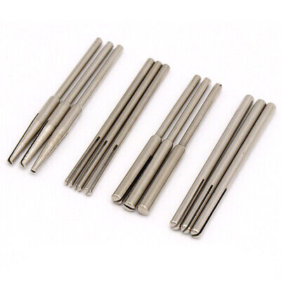 Parallel/Tapered/Straight Split Spindle Mandrel Emery / Sand Paper Rotary Tool • 2.75£