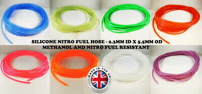 £3.35 • Buy RC Silicone Fuel Line Oil Tube Fuel Pipe Hose For Gas Engine Nitro Engine Glow