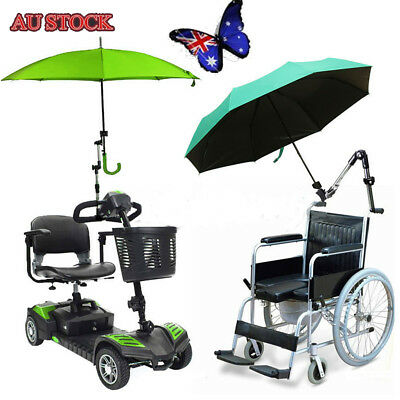 AU21 • Buy Universal Golf Umbrella Holder Stand For Buggy Cart Baby Pram Wheelchair
