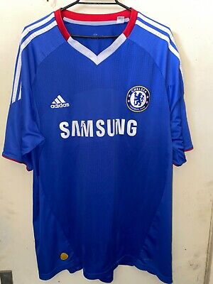 Vintage Adidas Chelsea FC Home Football Shirt Jersey Mens Size L England • 15£