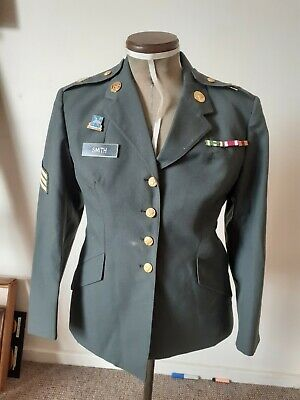 Us Army Womens Jacket With Insignia Xs • 24.99£