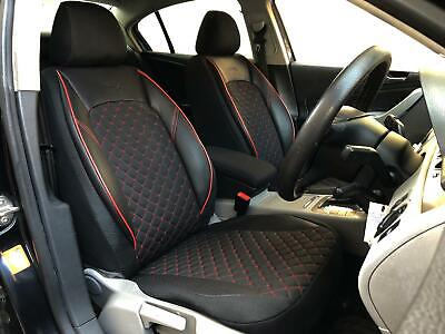Car Seat Covers Protectors BMW 3 Series Black-red V1225469 Front Seats • 99£