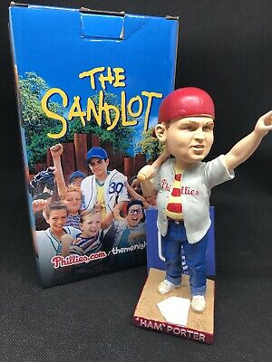 $ CDN50.68 • Buy Phillies Ham Porter Great Hambino Sandlot 2018 Bobblehead SGA ~ NIB ~ FREE Ship