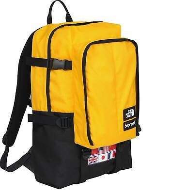$ CDN1158.72 • Buy Supreme X The North Face Expedition Backpack Taxi Yellow RTG Denim Purple Label