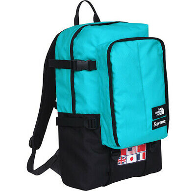 $ CDN1132.65 • Buy Supreme X The North Face Expedition Backpack Sky Blue RTG Denim Purple Label Wax