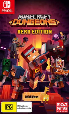 AU41.95 • Buy Minecraft Dungeons Hero Edition Switch Game NEW