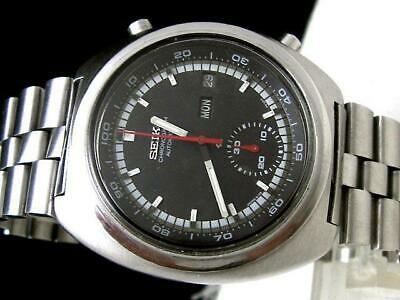 $ CDN774.70 • Buy Seiko 6139-7002 Vintage Chronograph Day Date Automatic Mens Watch Auth Works