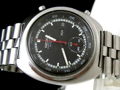 $ CDN765.87 • Buy Seiko 6139-7002 Vintage Chronograph Day Date Automatic Mens Watch Auth Works