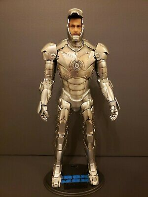 $ CDN250 • Buy IRON MAN : MARK 2 (NO BOX With PARTIAL ACCESSORIES) HOT TOYS 1:6 SCALE