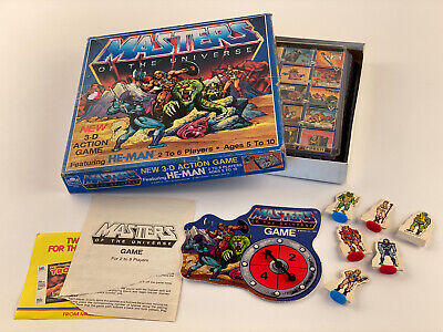 $44.99 • Buy Vintage Golden Mattel He Man Masters Of The Universe 3DAction Game Complete