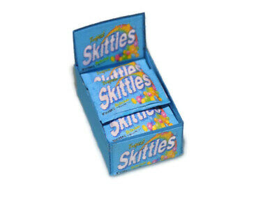 Dolls House Miniature Skittles-stock-sweet Shop-food-1:12 Scale • 3.99£