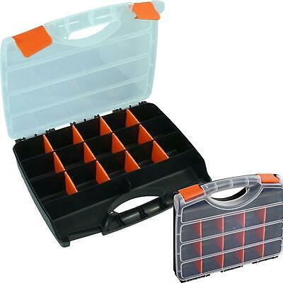 Neilsen 15 Compartment Box Storage Tool Organiser Case Screw Nail Nut Bolt Craft • 6.99£