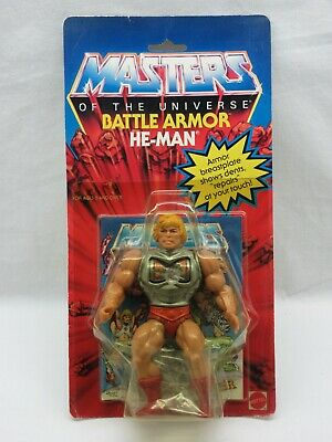 $645 • Buy MOTU,VINTAGE,BATTLE ARMOR HE-MAN,Masters Of The Universe,MOC,sealed