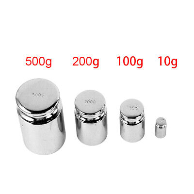 £1.69 • Buy 10g 100g 200g 500g For Weigh Scale Silver Calibration Weight Chrome Plating Gram