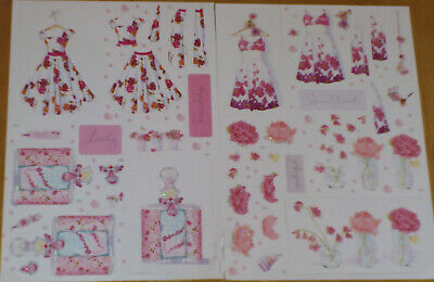 Craft Papers - 4 A4 Sheets - Lucy Cromwell By Papermania - 38 Toppers  • 3.77£