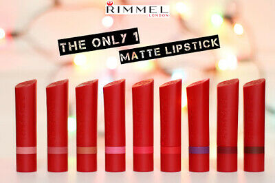 ** BRAND NEW** Rimmel Only One Matte Lipstick-CHOOSE YOUR SHADE! • 2.70£