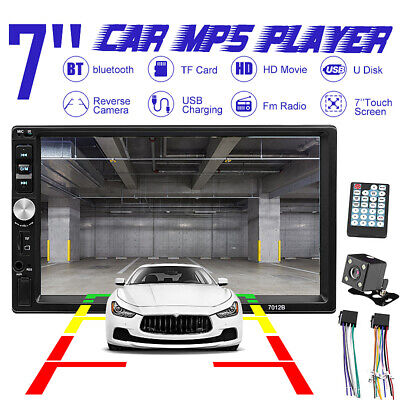 AU56.69 • Buy 7 Inch Car MP5 Player Radio Double 2 Din Stereo Bluetooth FM AUX USB Head Unit
