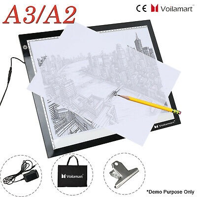£29.99 • Buy A2 A3 LED Tracing Board Light Box Drawing Pad Artist Copy Board Art Painting