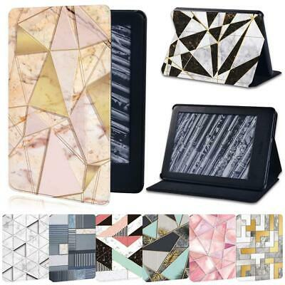 For Amazon Kindle 8/10 Paperwhite 1234 -Geometry Leather Stand Tablet Cover Case • 7.99£