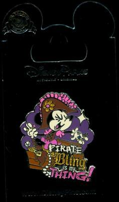 Pirate Minnie Mouse Pirate Bling Is My Thing! Disney Pin 119546 • 4.44£