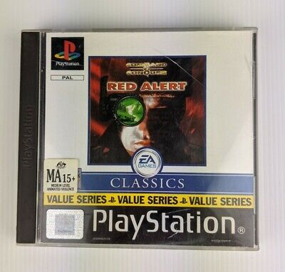 AU39.95 • Buy Command & Conquer: Red Alert Sony Playstation 1 Game Complete PAL PS1 1999 Retro