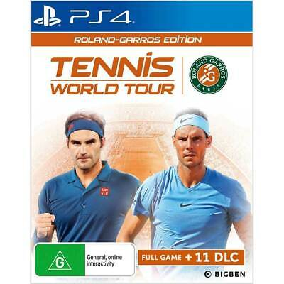AU29.95 • Buy Tennis World Tour Roland Garros Edition - PS4 Playstation 4 Game As New